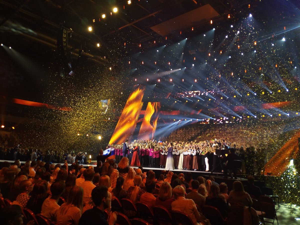 Eurovision Choir of the Year Winners Celebration