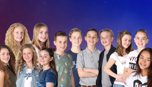Tonight: The Netherlands Selects Their Entrant For Junior Eurovision 2017