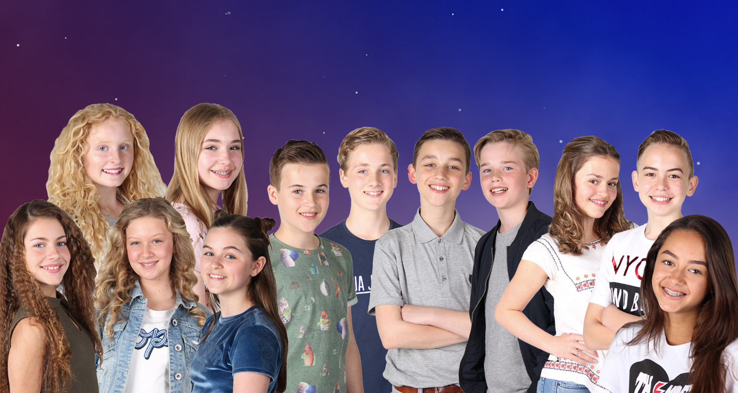 Junior Songfestival 2017 Participants