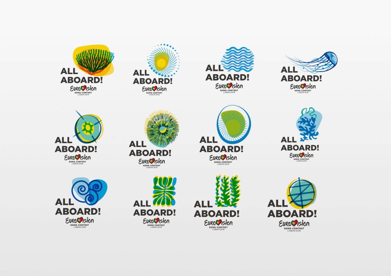 All Aboard: Eurovision 2017 Logo