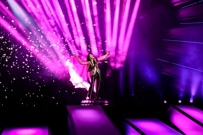 Helena Meraai, Junior Eurovision Belarus 2017. Image source: Thomas Hanses / EBU