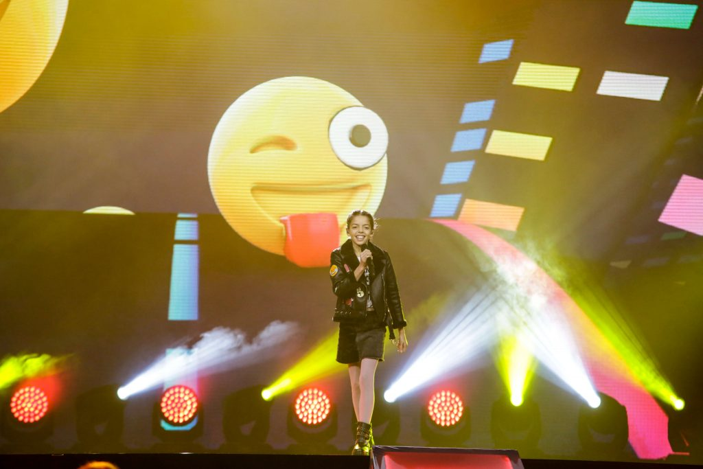 Mariana Venancio, Junior Eurovision Portugal 2017. Image source: Thomas Hanses / EBU