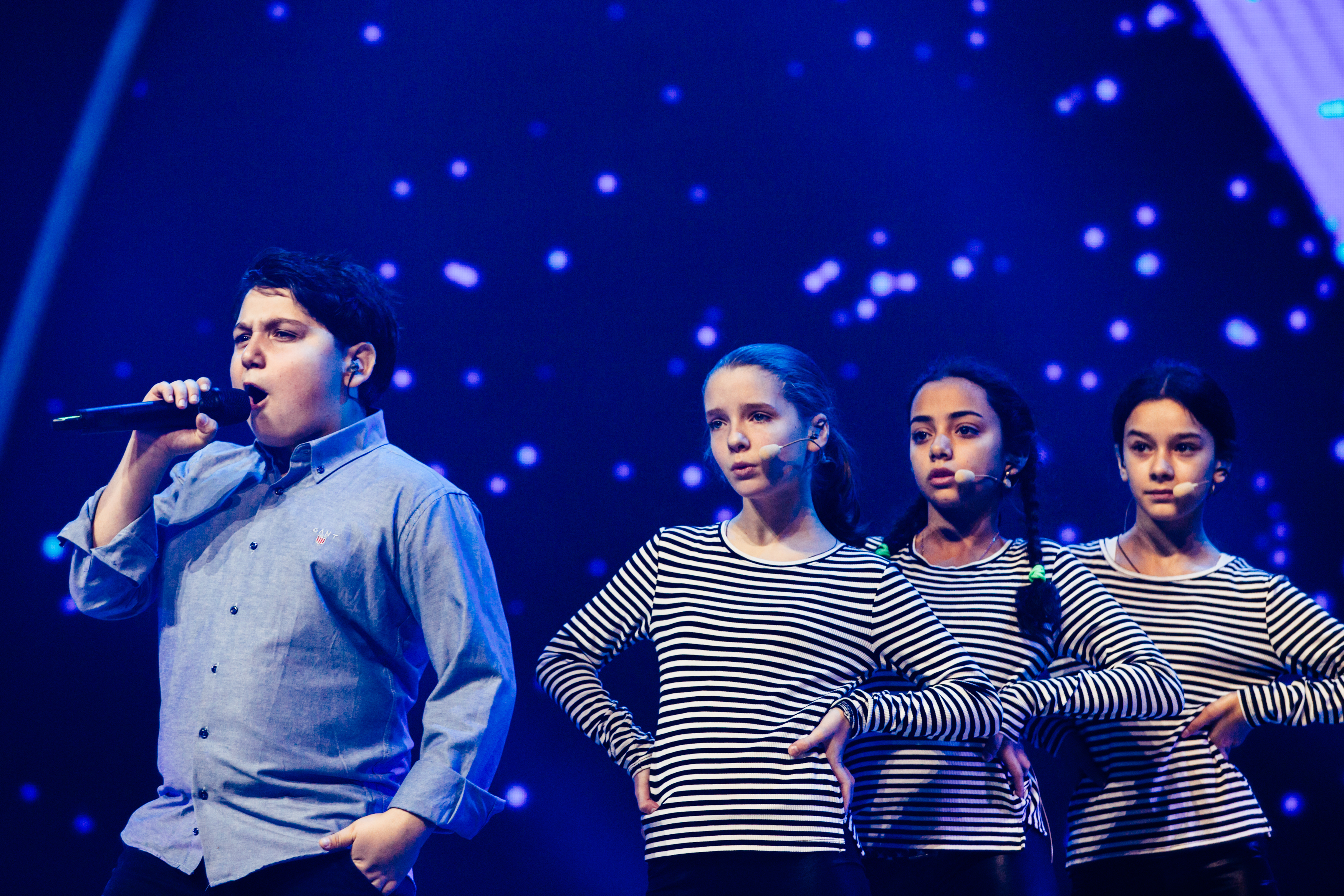The Virus at Junior Eurovision 2015. Image source: EBU