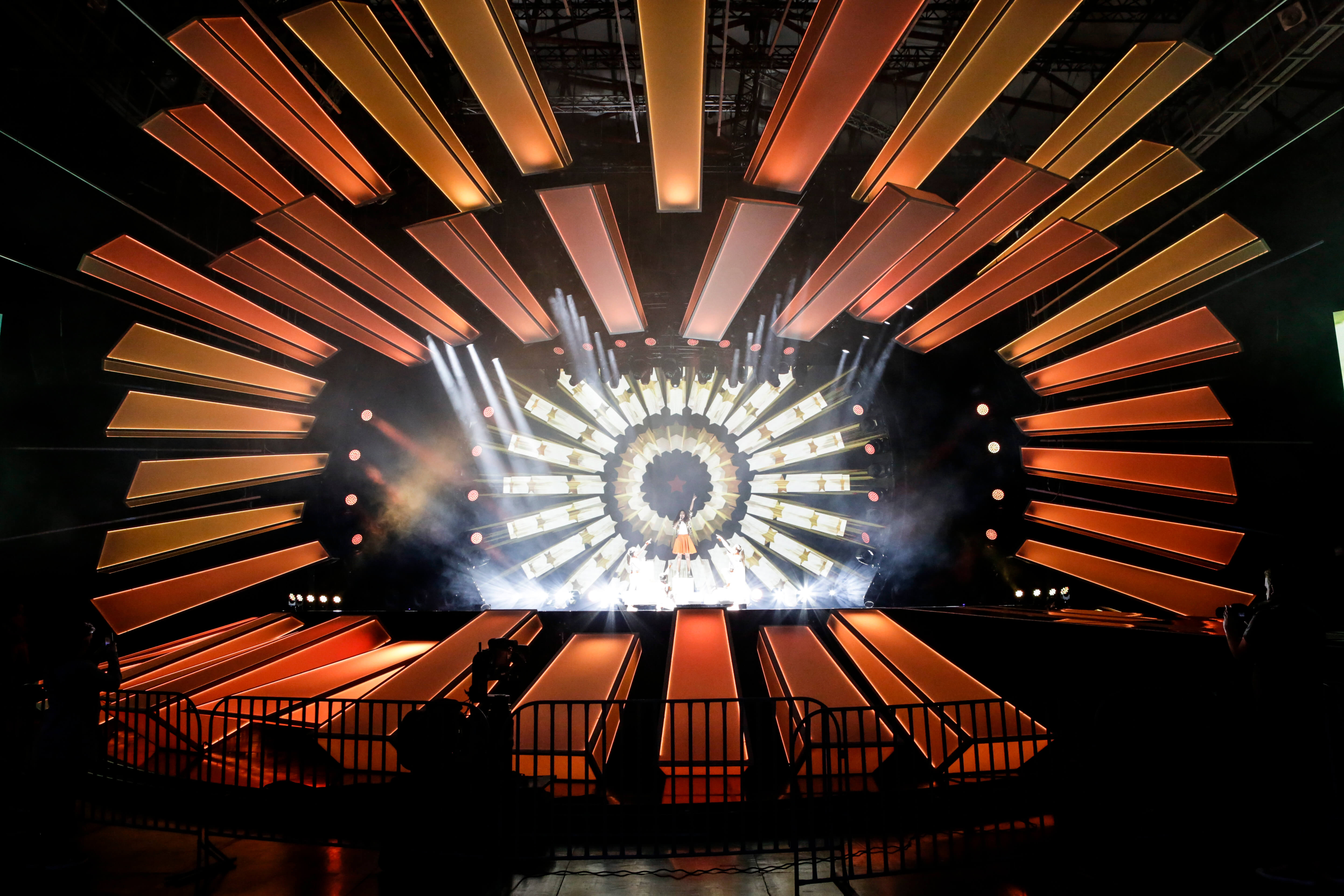 Cyprus' first rehearsal. Image source: Thomas Hanses | EBU