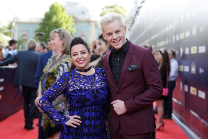 Myf Warhurst and Joel Creasey, Australia. Image source: EBU