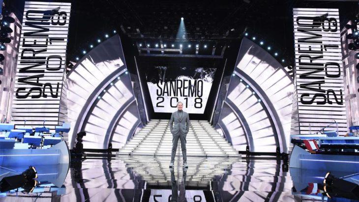 Sanremo 2018 stage