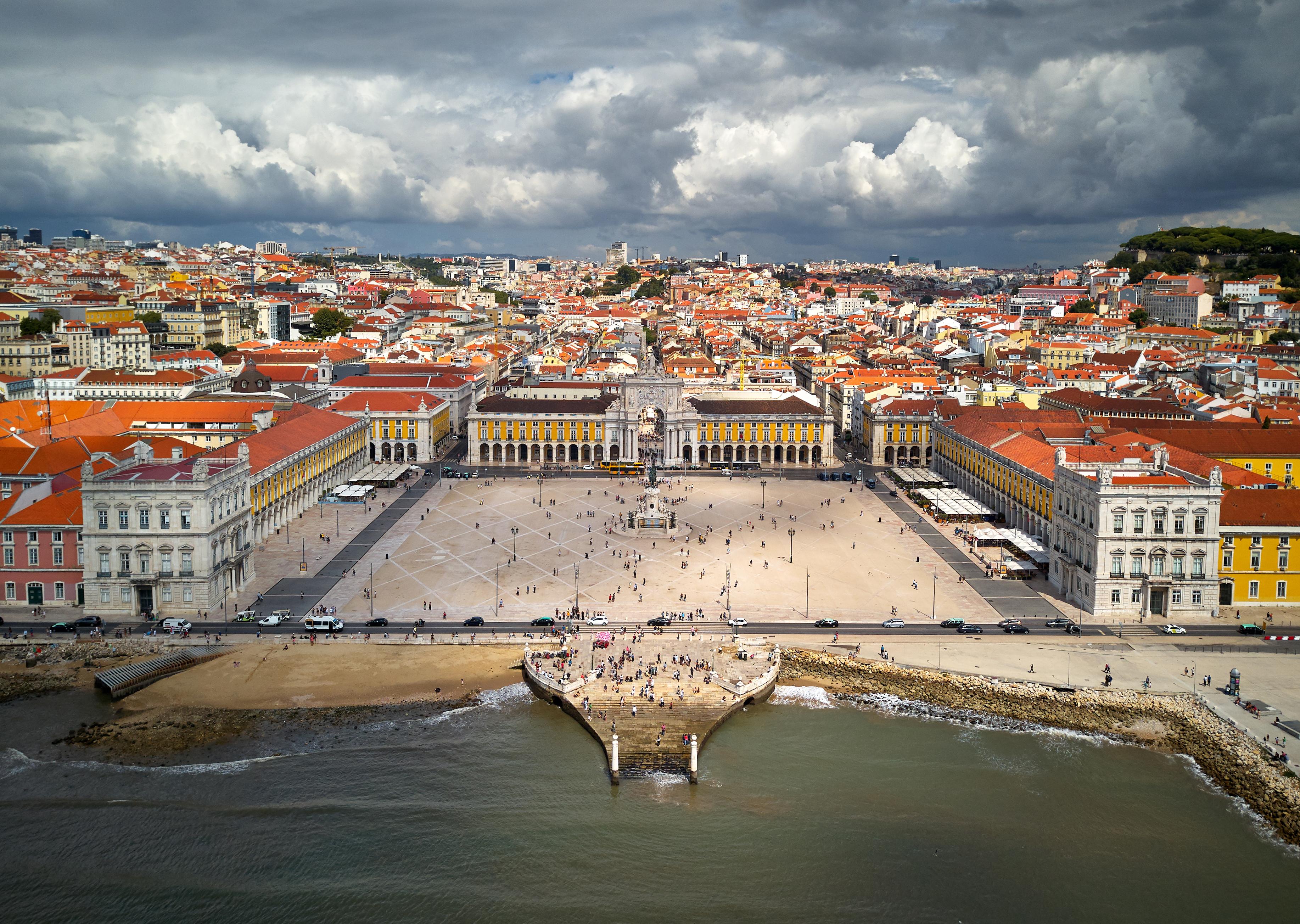 Praça do Comércio, also known as Terreiro do Paço, will be the venue for Eurovision Village for the Eurovision Song Contest 2018 in Lisbon.