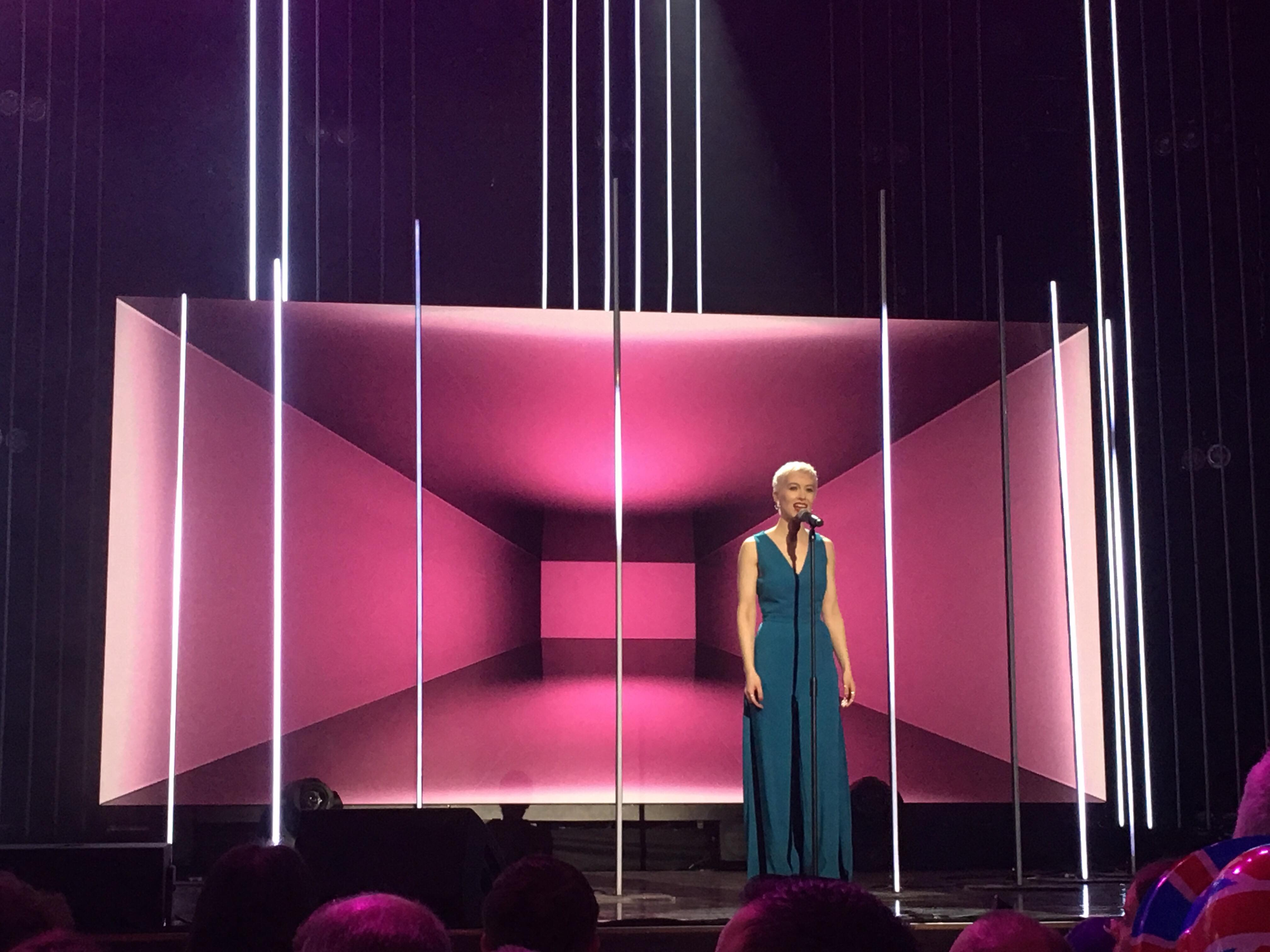 SuRie at the BBC's You Decide