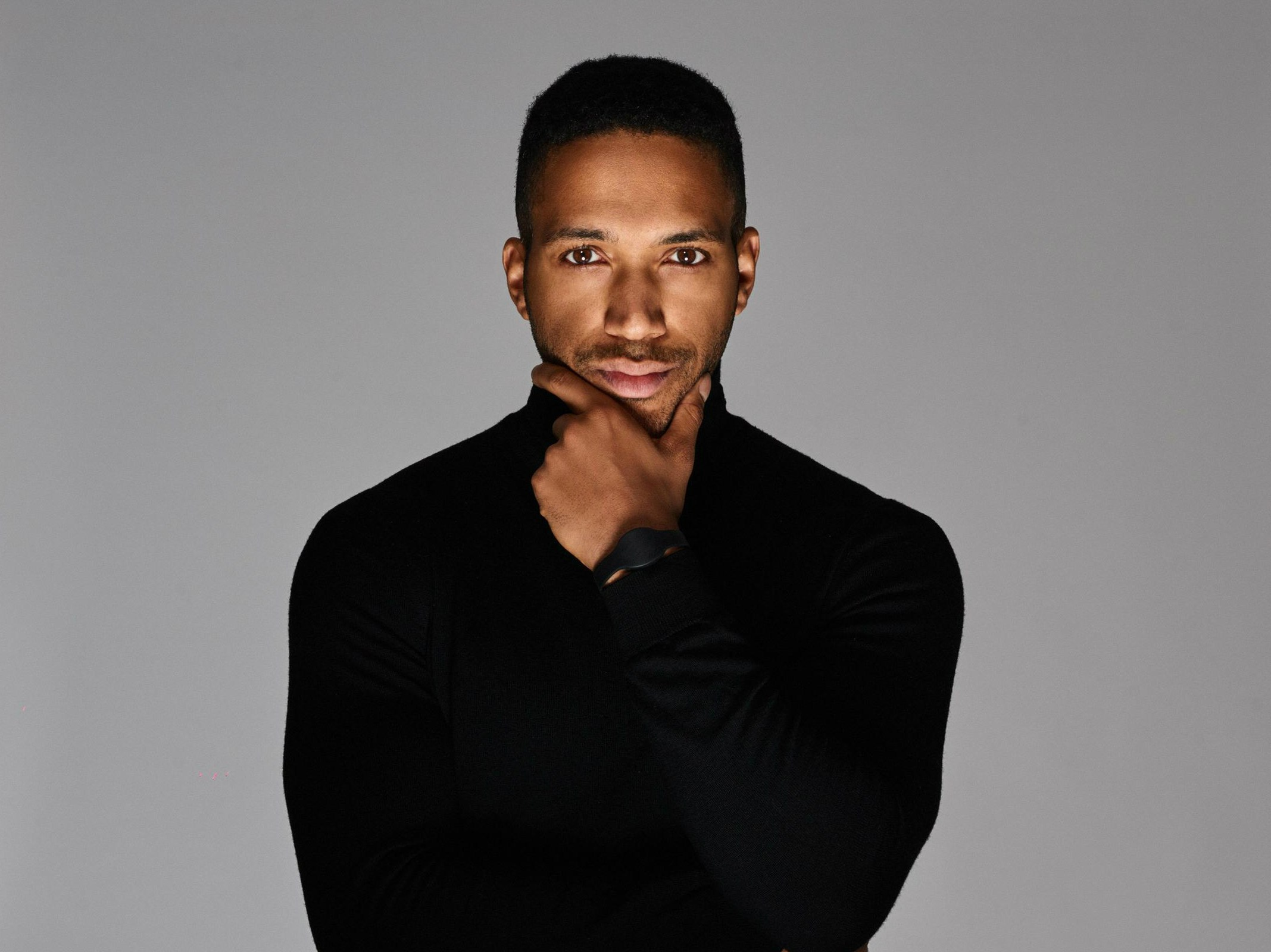Cesár Sampson, photo via Eurovision.tv