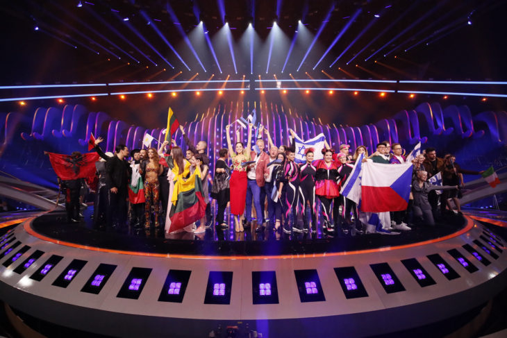 Qualifiers from the first semi-final of Eurovision 2018. Photo by: Andres Putting