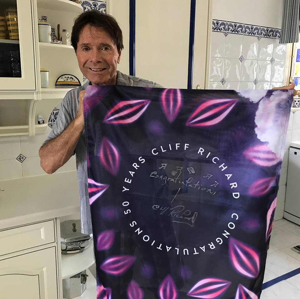 Congratulations! Celebrating 60 years of Sir Cliff Richard