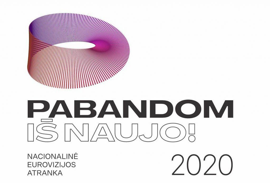 Pabandom iš naujo logo